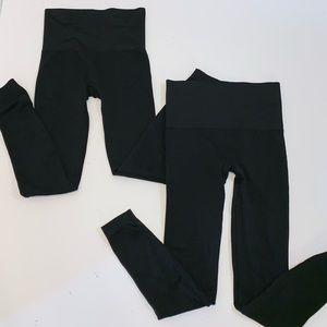 (2) Spanx Leggings Bundle -size Small